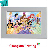 3D lenticular printing hot girl picture 3d without dress for gift