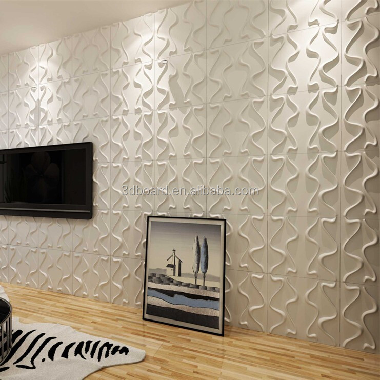 Modern simple pvc wall coating type european style 3d wallpaper DIY wall covering