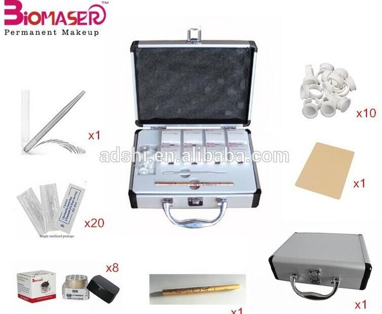 Cosmetic Eyebrow Embroidery Microblading Kit For Permanent Makeup