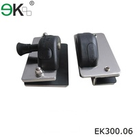 Stainless steel heavy duty glass magnetic door latch types