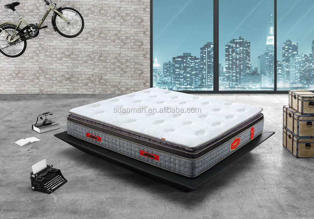 royal and comfortable latex pocket spring mattress (Athene)