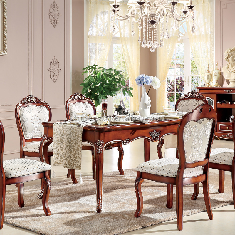 Antique french provincial dining room furniture buy for Antique dining room tables