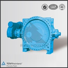 4 inch resilient seated eccentric flanged butterfly valve