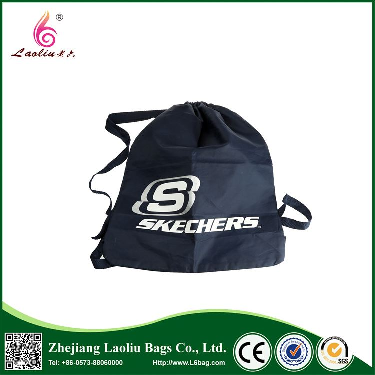 Top selling attractive style folding shopping bag cheap drawstring bags