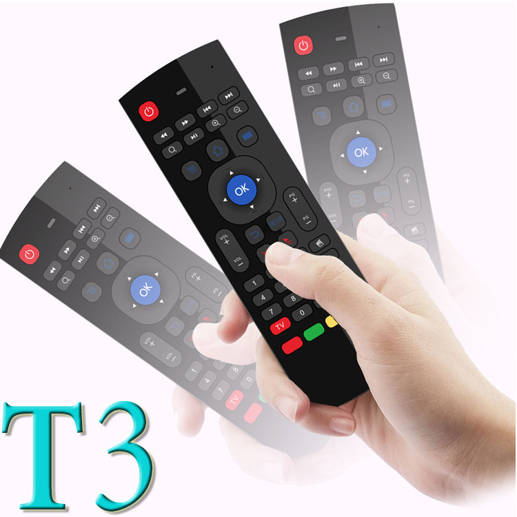 design T3 2.4GHz Wireless Remote Control and keyboard wireless mouse keyboard