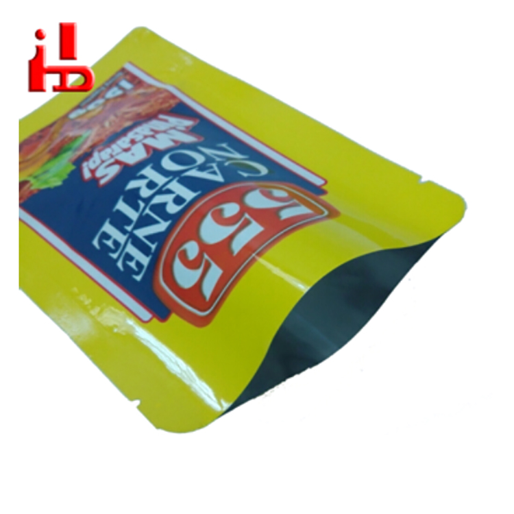 High Temperature Aluminum Foil Stand Up Retort Pouch Bag