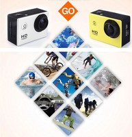 High Quality Waterproof 170 HD Wide Angle Lens 12MP Extreme Sport Camera Sj4000