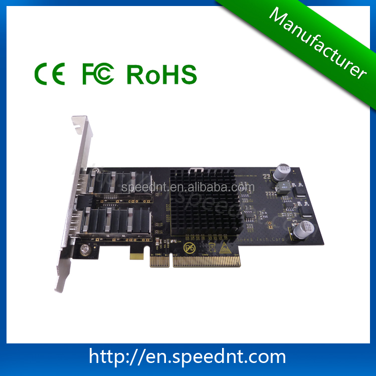 (UK-A2XGS)10G Intel INTEL82599es 2 10G LC network NIC fiber optical network card