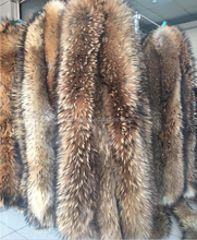raccoon dog strip, raccoon dog trimming, raccoon dog fur