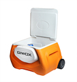 Giwox 28L Patro Wireless Cooler Box with Trolley, 4400mAh Power bank,trolley cooler box