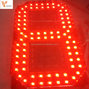"Red Color Single 1 digit 6"" 8"" 12"" 7 segment LED number Display"