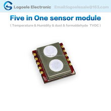 five in one Temperature and humidity VOC TVOC CO2 formaldehyde detection sensor module