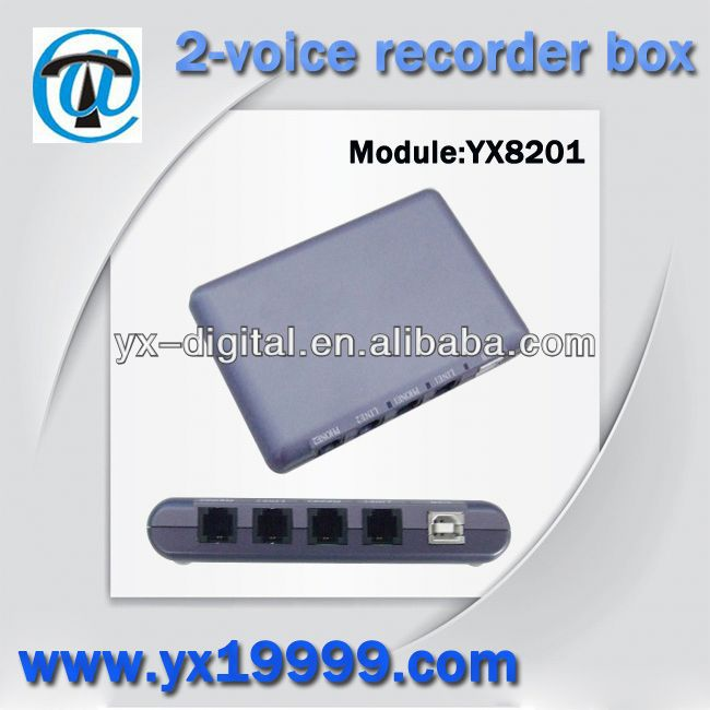 Recorder box video door phone with record