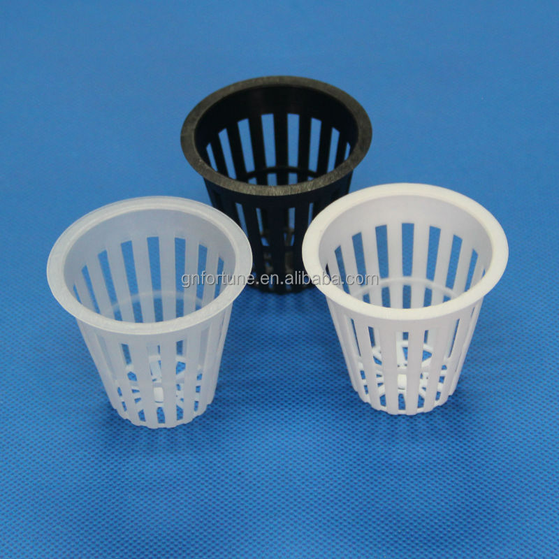 "2"" Hydroponics Slotted Mesh Net Pot Planting Baskets"