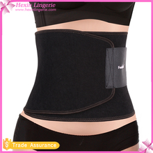 Black Premium Stomach Wrap Waist Slim Belt Waist Trimmer belt