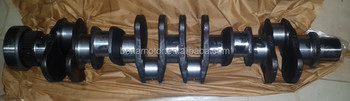 crank mechanism parts for CUMMINS ISDE 6-CYL engine OE# 4934862 forged crankshaft