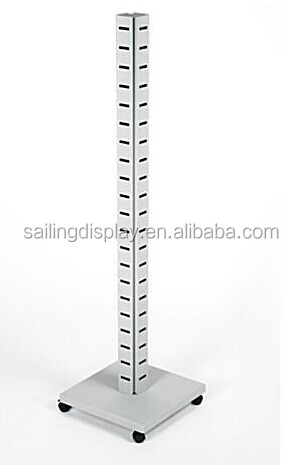 "60"" Metal Slatwall Tower display stand"