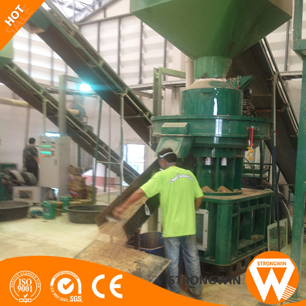 Professional factory supply complete biomass pellet production line wood