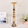 50cm Wedding Road Lead Flower Table Vase Stand Gold Wedding Centerpiece Decoration