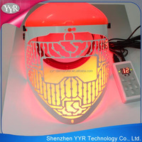 YYR hot sale led light therapy skin tightening led machine for skin care