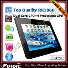 New coming! RK3066 Dual core 9.7'' pipo m1 tablet pc