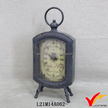 Metal Antique Vintage Decorative Table Clock