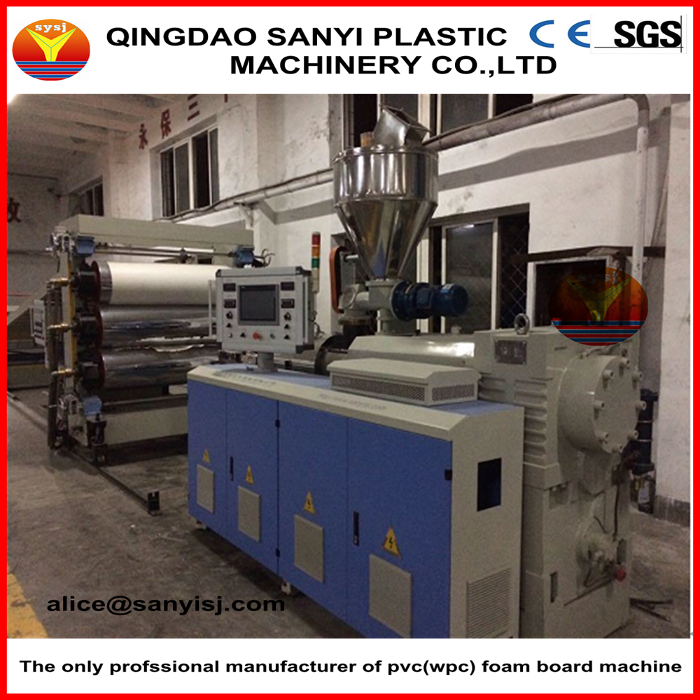 PVC Faux Marble Sheet/Wall Panel/Interior Decoration Board Machine/Production Line