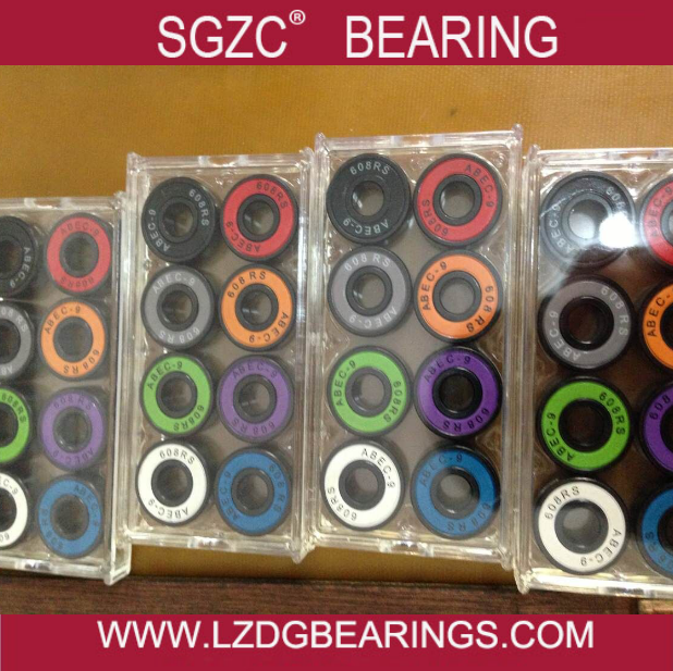 Miniature ball bearing / skateboard bearing 608 2RS with rubber seals lower price