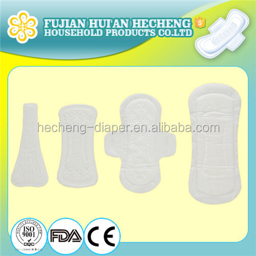 OEM High Absorbent Cotton Lady Sanitary Napkin cheap price lady anion