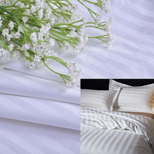 Cotton Dobby Stripe Bed Sheet Fabric For Hotel
