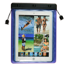 2014 popular blue pvc waterproof case for samsung galaxy tablet pc 10.1""