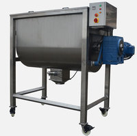 Powder Horizontal ploughshare ribbon mixer for medicine with large capacity