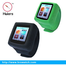sports silicone slap mp4,mp4 watch manual,cheap color printing mp4 player watch