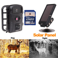 HD Scouting RD1003 Wildlife Digital Infrared Trail Hunting Camera+6V Solar Panel