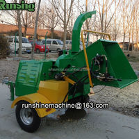 CE approved firewood processor DWC-22 wood chipper machine
