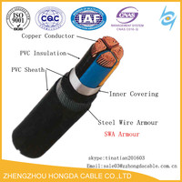 CU/PVC/SWA Power Cables 3core 50mm2 600/1000V