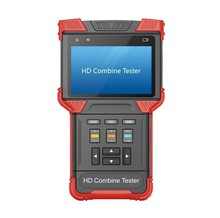 Multi-functional 4-In-1 AHD & HD-TVI & Analog & IP Camera CCTV Video Tester Hybrid HD Combine Tester