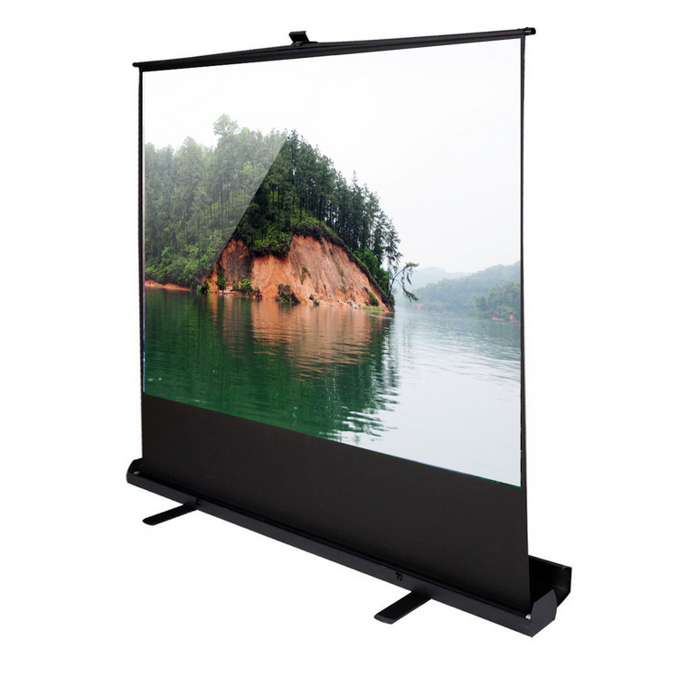New style manufacture wedding floor standing screen projection