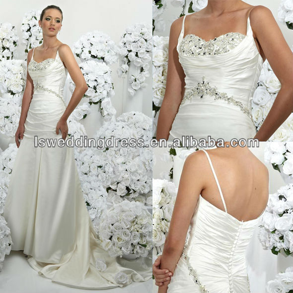 WD1782 cheap price elegant bridal dress glass crystals jewelry beading shiny bust china factory dropshipping wedding dress