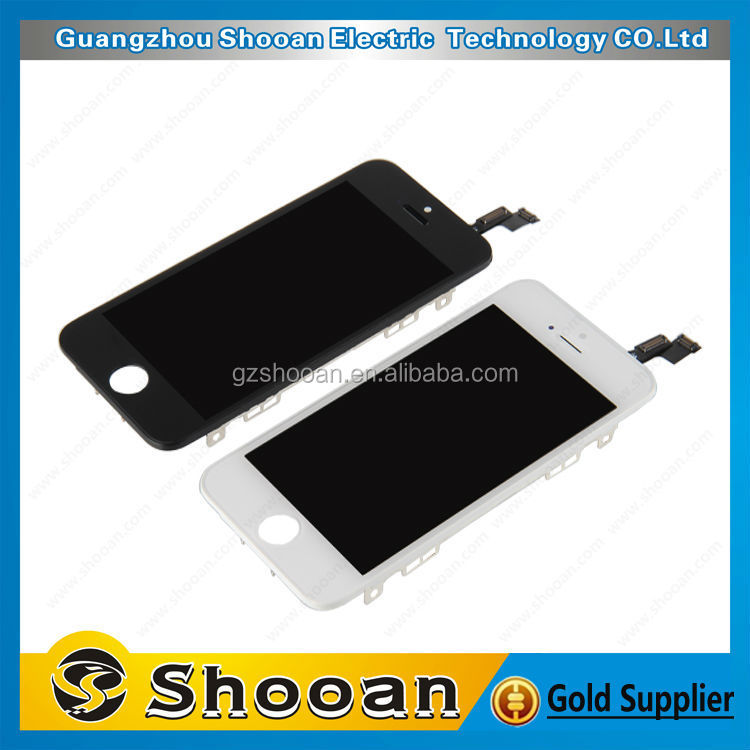1year warranty for iphone 5s front glass,for iphone 5s front glass <strong>lcd</strong>