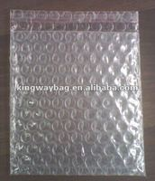 white double bubble packing bag