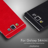 Hot selling Aluminium metal phone case Motomo Case For Samsung Galaxy S4 mini phone cover case