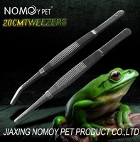 Nomo High quality 30cm reptile tweezers stainless steel tweezers