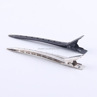 Long Slim Metal Duck Bill Hair Clips For Holding Selection Of Hairs Made In China