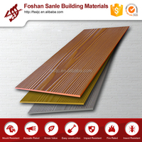 Wood Grain Fiber Cement Siding Board/ Exterior Wall Panels