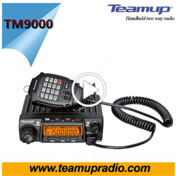 Radio communication 100 mile walkie talkie 50 km two way radio mobile radio TM9000