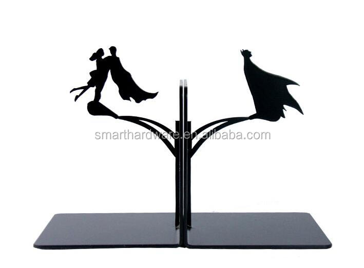 Laser cut BIRD metal book stand Decorative bookends