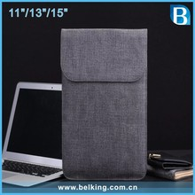 Universal Linen Sleeve Case Cover Pouch Tablet Bag For Microsoft Surface Pro 4 12.3 inch