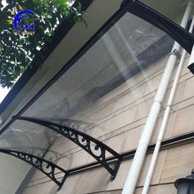 Roof metal door awning, polycarbonate awnings