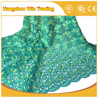 Alibaba supplier 2016 lace cord african fabric wholesale for clothes